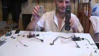 v.01 Arduino сквозной радио удлинитель ИК пульта IR NRF24L01 RF wireless IR