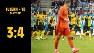 Luzern - YB (3:4), 24.07.2021   Credit Suisse Super League screenshot 3