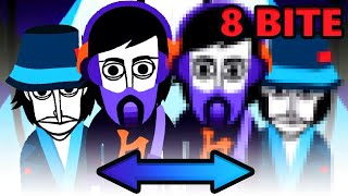 СРАВНЕНИЕ INCREDIBOX 8 bite Mod (RetroBox) И INCREDIBOX V6!