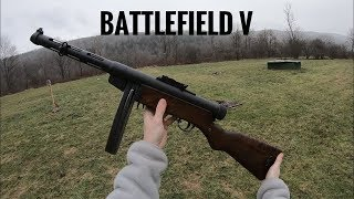 Battlefield V Guns In Real Life