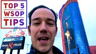 (MUST WATCH!) TOP 5 World Series Of Poker Tips and Tricks