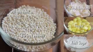 Tupperware Thermal Flask Recipe - Yummy FuChuk Barley