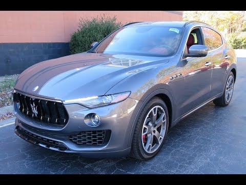 2017 Maserati Levante Road Test & Review - YouTube