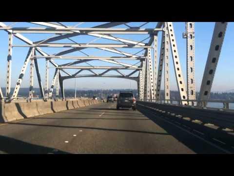 Seattle Washington SR 520 Toll Bridge