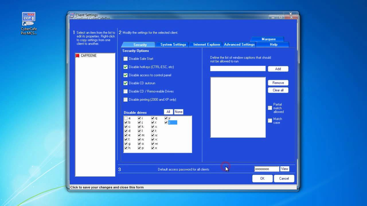cybercafepro client 3.8