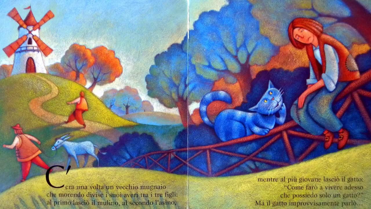 Risultati immagini per il gatto con gli stivali disegno d'epoca