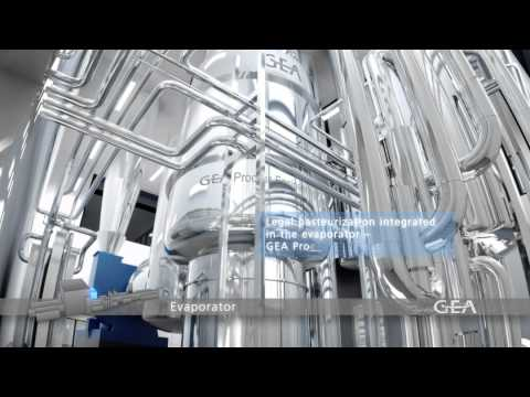 GEA Group - Milk Powder Factory