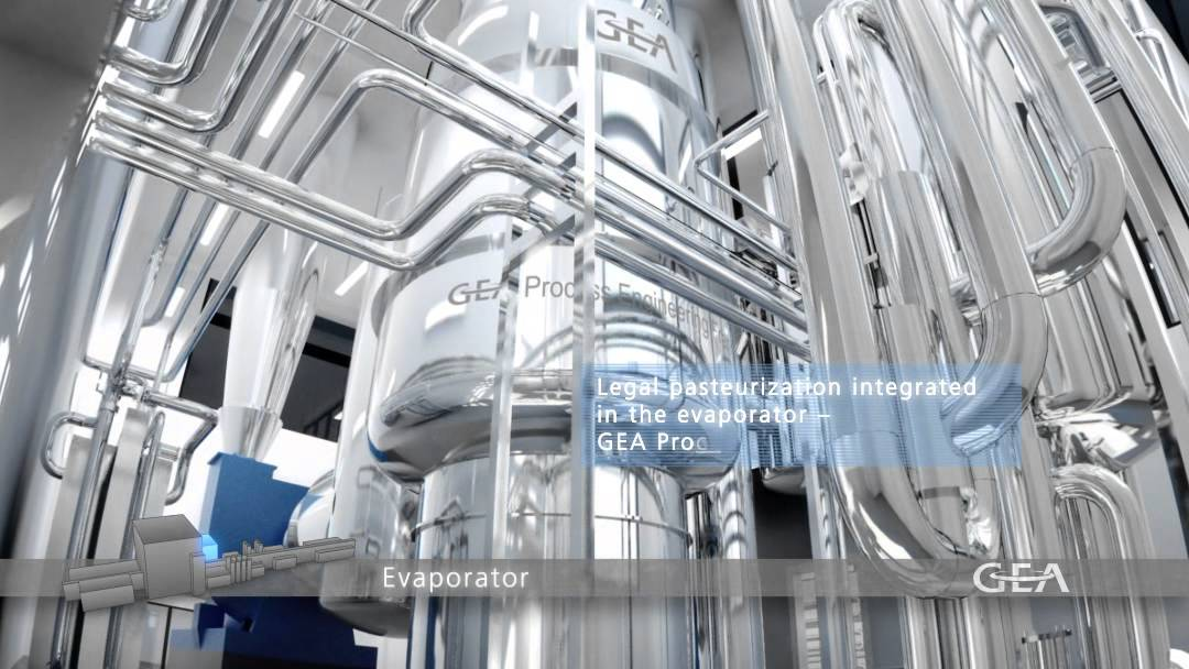GEA Group - Milk Powder Factory