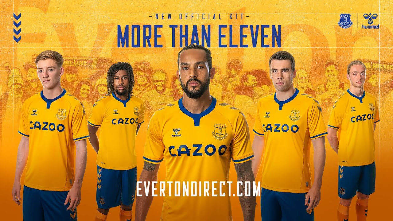 Hummel Everton 20 21 Away Kit Released Footy Headlines