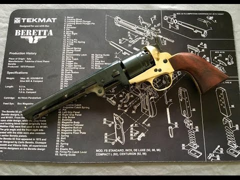 Pietta Model 1851 Confederate Navy  44 Caliber | Unboxing and Review