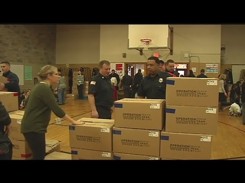 "Springfield schoolchildren receive winter coats through ""Operation Warm"""