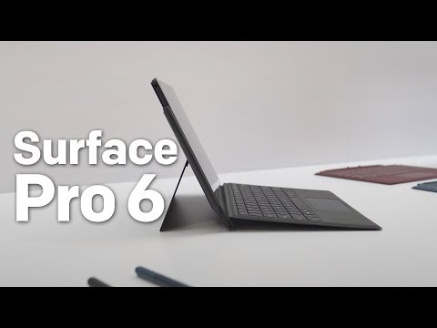 Surface Pro 6 hands-on: Black option and Intel 8th Gen (yay)