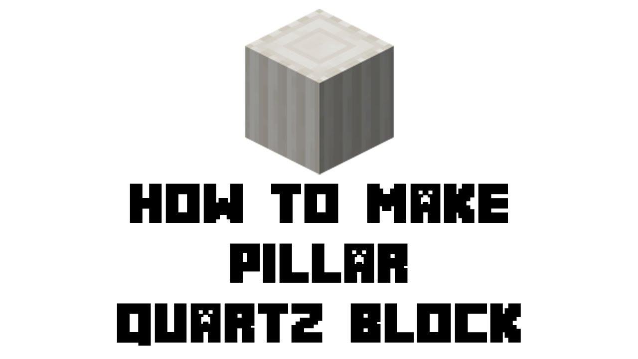 Pillar Quartz Block