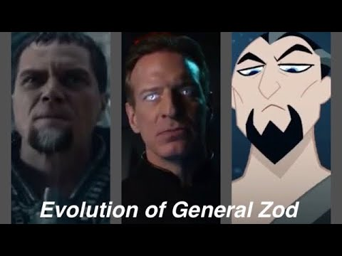 Download Evolution of General Zod in Movies, TV, and Cartoons in 8 Minutes (2020)