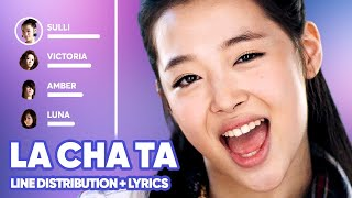 f(x) - LA chA TA (Line Distribution + Lyrics Karaoke) PATREO…