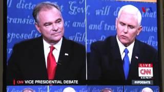 Expertos en política analizan el debate vicepresidencial