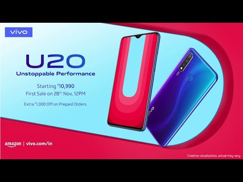 vivo-u20-|-first-sale-on-28th-nov,-12pm