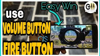 How to use Volume Buttons as Shoot button in PUBG mobile | Easy win | Pro Tips