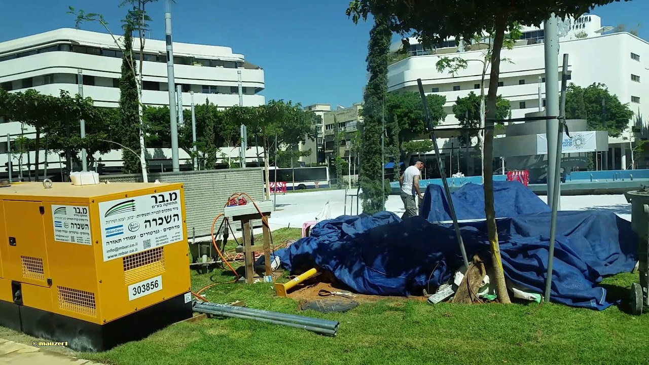 Tel Aviv Update: Dizengoff Square Tel Aviv Renovation Update 18.9.2018