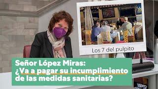 Preguntamos a López Miras por la comilona de los 7 del pulpito