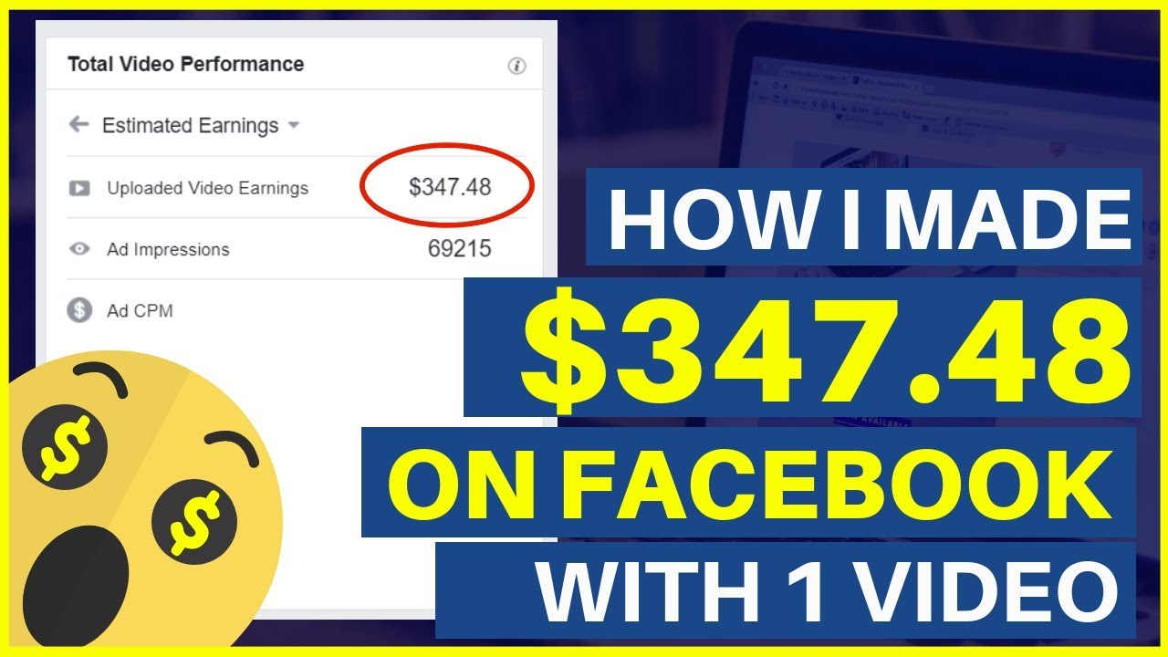 How I Made $347 48 On Facebook With 1 Video | Facebook Ad Breaks