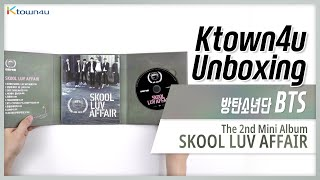 "Unboxing BTS ""SKOOL LUV AFFAIR"" the 2nd mini album, 防彈少年團 방탄소년단 언박싱 Kpop Ktown4u thumbnail"