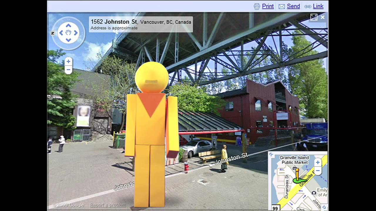 Instant Google Street View