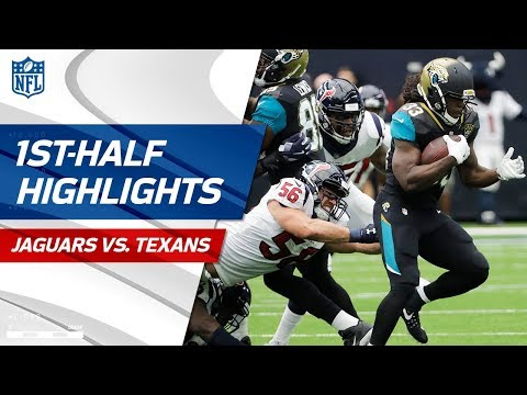 Jaguars Dominate Texans in the First Half! | NFL Week 1 Highlights