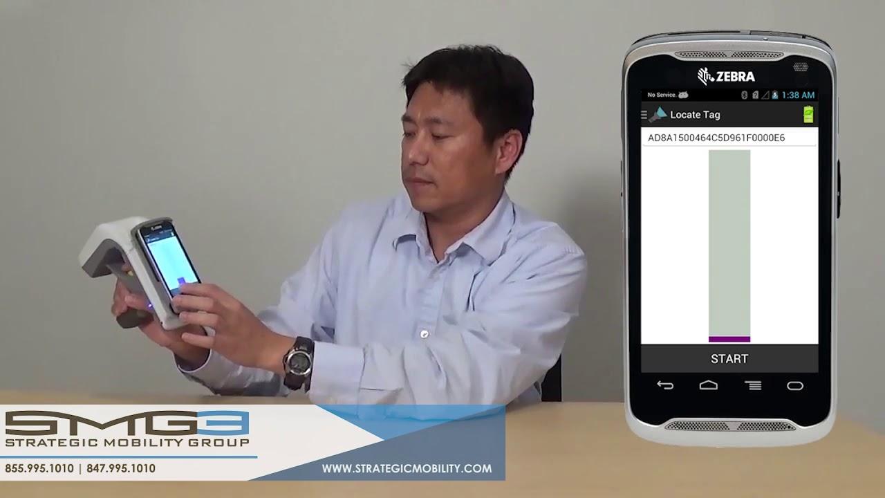 SMG3 | Zebra's RFD8500 RFID Scanner - How To
