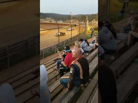 Fastrack Great American Crate Race at Tyler County Speedway 7/1/2019. - dirt track racing video image