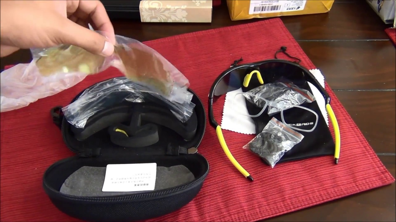 d8d1d5ca6e Rockbros Polarized Cycling Glasses Review - YouTube