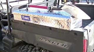 """2003 Polaris Ranger 6x6 """"bed Storage Tool Box Lock N Ride"""""""