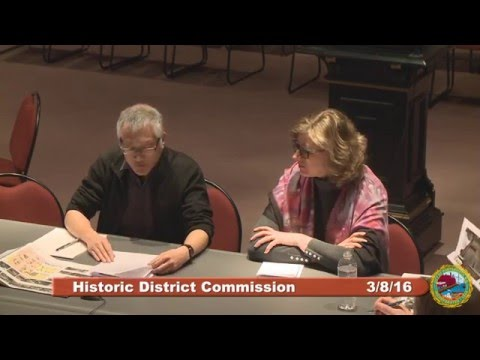 Historic District Commission 3.9.16