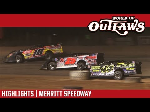 World of Outlaws Craftsman Late Models Merritt Speedway August 27, 2017 | HIGHLIGHTS