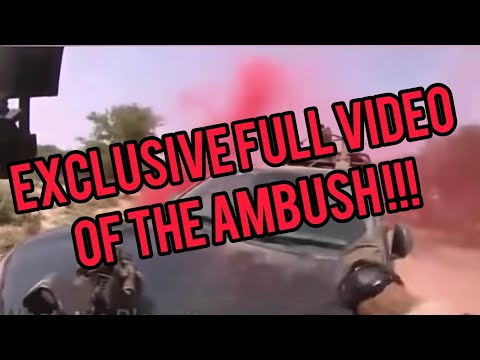 US soldiers taken in ambush in Niger by ISIS full video those patriots  gived their life for amercia