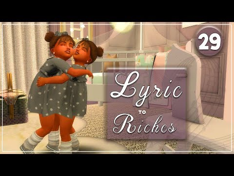 The Sims 4 🎵 Lyric to Riches 🎵 #29 TODDLERS thumbnail
