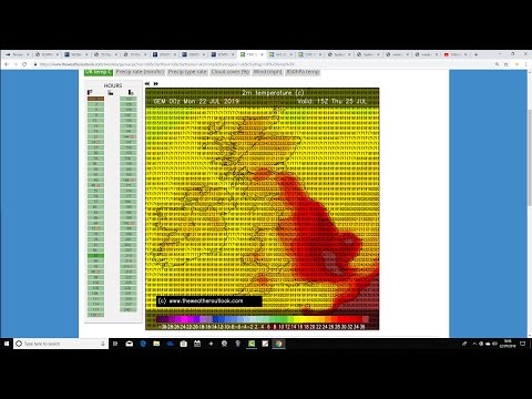 Record Breaking Heat Possible This Week? (22/07/19)