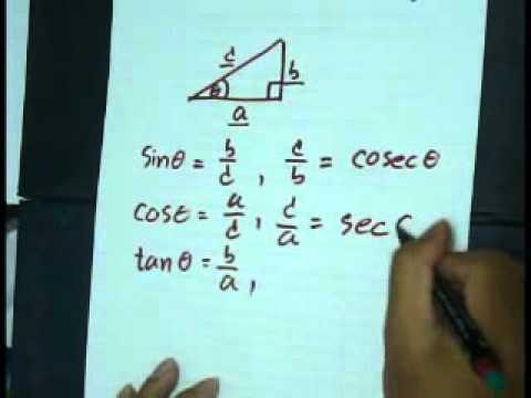 ตรีโกณมิติ (Trigonometry)