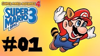 Super Mario Advance 4: Super Mario Bros. 3 -- Part 1: Power of 3!