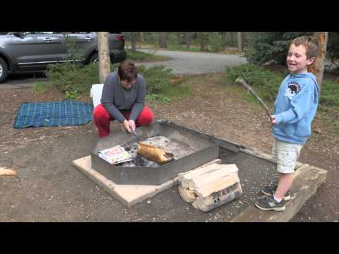 Golden Gate Canyon State Park - Camping with Grammy