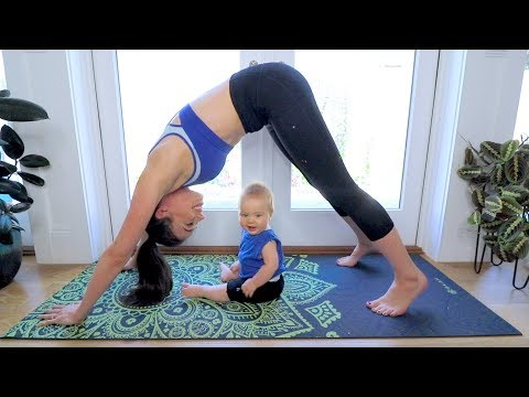 YOGA CHALLENGE WITH MY BABY!