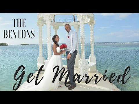 Our Beach Wedding In Jamaica (Clips)