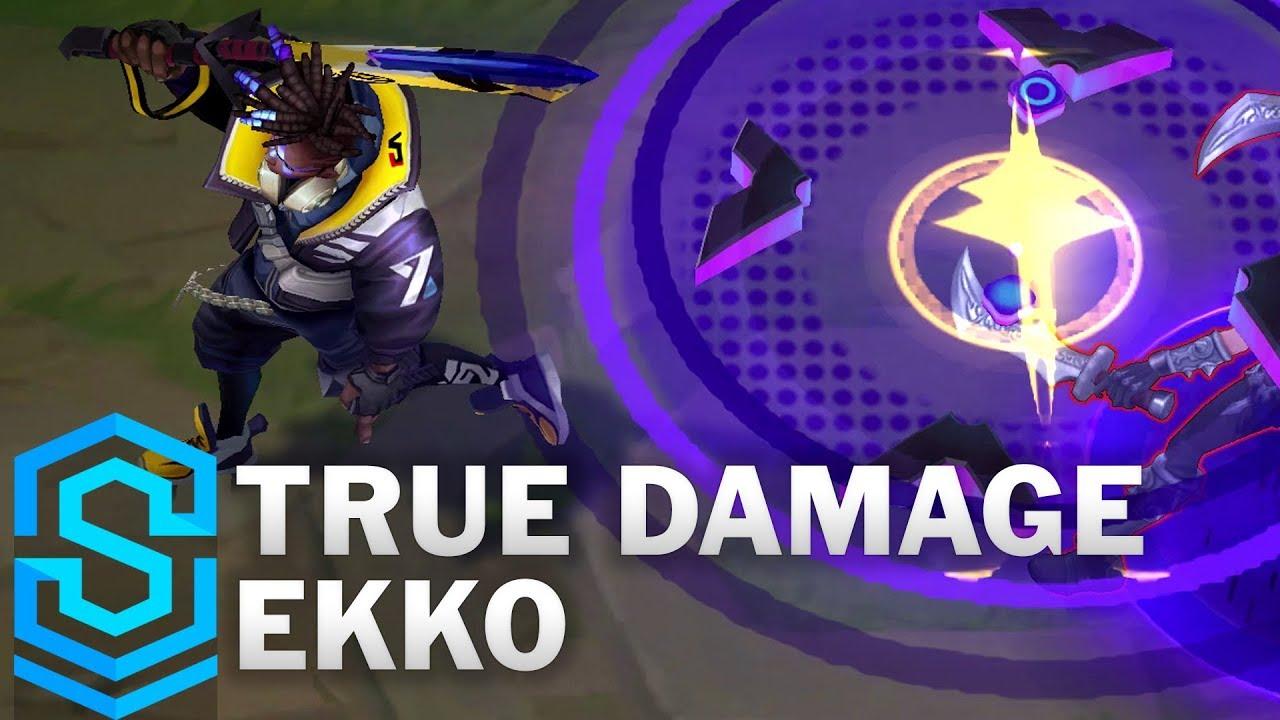 Download True Damage Ekko Skin Spotlight - League of Legends