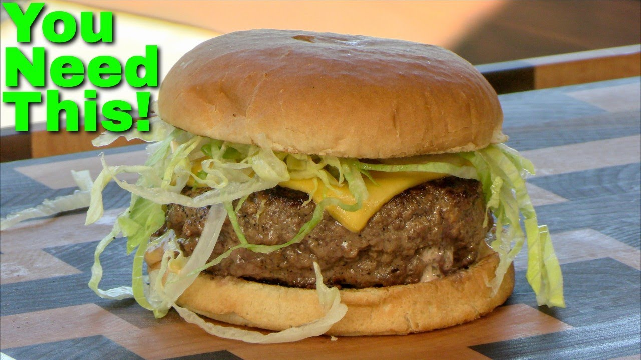 The Saucy Sally Burger Copycat! Better than a Jucy Lucy?   5-8 Club   Ballistic Burgers