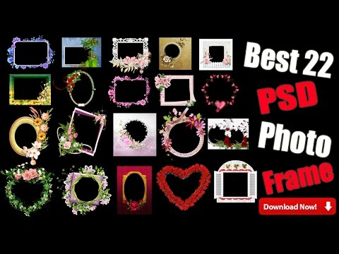 Download Free PSD Photo Frame For Engagement Marriage  And Birthday 2017 Hindi/Urdu