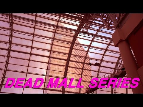 DEAD MALL SERIES : FROM THE 80s to the 70s : Galleria at Erieview OHIO & Eden Mall NC