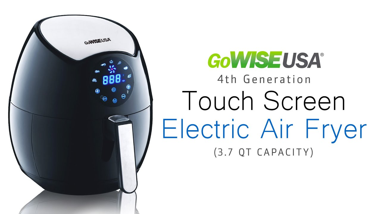 Touch Screen 3 7-Quart 7-in-1 Air Fryer, GW22621 – GoWISE USA