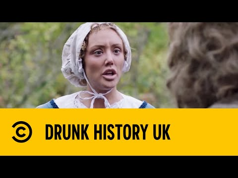 Charlotte Crosby as Isaac Newton's Mum - Drunk History   Comedy Central