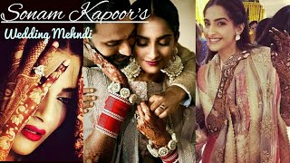Sonam Kapoor Wedding Bridal Lotus Mehndi designs| Dulhan Mehndi designs 2018 for Hands and Legs