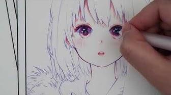 [ Họa cụ ] Review màu chì khô Deli Colored Pencils - Lobeo Art | Speed Paint